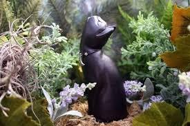 cat bath statue www gardenstatueshop big backyard