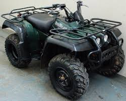 2004 yamaha big bear professional 400cc atv offroad 4x4 quad