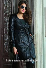 leather trench coat leather trench coat suppliers and