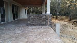stacked stone fireplace columns and bbq u2013 ocala stone finish