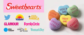 necco sweethearts product launch media relations schneider