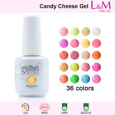 candy cheese series ido gelish candy cheese soak off gel nail polish