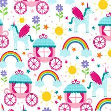 cx6339 rainbows u0026 unicorns princess kids children girls pink sun