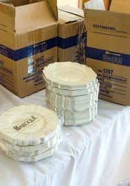 wedding plates cheap plastic dinnerware for wedding decorative plastic plates for