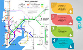 Mumbai India Map by Explore Mumbai Local Train Maps