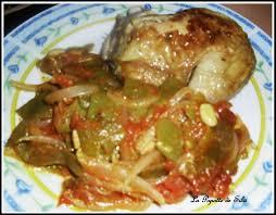 cuisine algeroise haricots plats à l oignon et tomates loubia b sel tomatiches