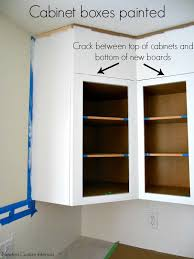 how to trim the bottom of a cabinet kitchen reveal kitchen cabinet upgrade newton custom