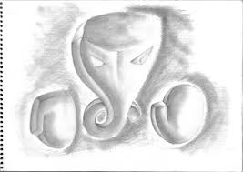 pencil ganesha abode of horus