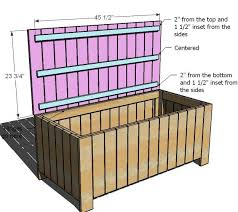 How To Make A Wood Toy Box Bench by Bedroom Wonderful Best 25 Garden Storage Bench Ideas On Pinterest