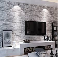 wallpaper for livingroom the 25 best brick wallpaper bedroom trending ideas on