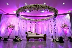 indian muslim wedding dcor wedding decorations flower throughout