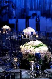 Blue Wedding Centerpieces by Suspended Statement Centerpieces Weddings Centerpieces