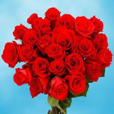amazon com globalrose 50 red roses fresh birthday flowers