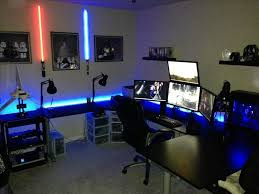 Gaming Desk Ideas by Cozy Gaming Station Computer Desk Ideas 4069
