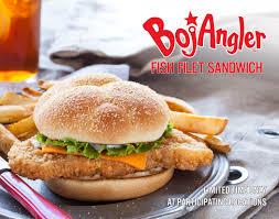 catch of the day bojangles all new bojangler fish sandwich
