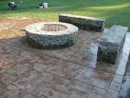 Patio Pavers Calculator Stone Texture Stamped Concrete Patio Pavers Vs Concrete