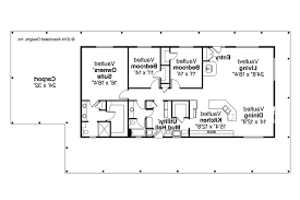 Ranch Plans by Ranch House Plans Madrone 30 749 Associated Designs