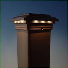 Solar Light For Fence Post - lighting solar lights for decking post caps fence post solar