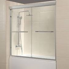 glass bath shower doors glass shower door ebay