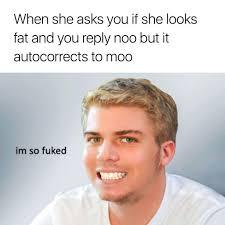 Autocorrect Meme - moo omg autocorrect your pinterest likes pinterest hilarious