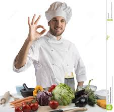 cuisine chef cuisine of expert chef stock image image of confident 55582225