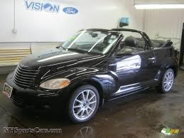 2005 chrysler pt cruiser gt convertible in black 286087