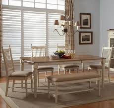 Dining Room Sets With Benches Bench Casual Dining Sets With Bench Dining Room Sets To Fit Your