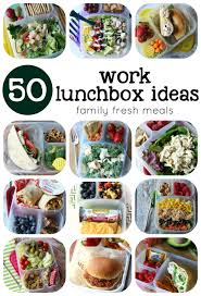 50 healthy work lunchbox ideas family fresh meals