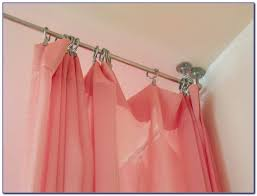 Hanging Drapes From Ceiling Room Divider Curtains Ceiling Curtain Home Decorating Ideas