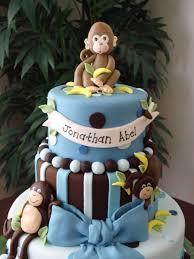 monkey boy baby shower cake cakecentral com