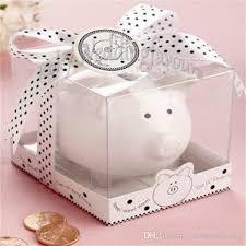 piggy bank party favors 2017 li l saver favors ceramic mini piggy bank in gift box with