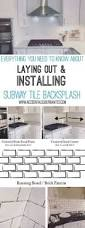 Kitchen Backsplash How To Install by You Might Want To Rethink Your Kitchen Backsplash When You See