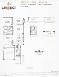 auberge at del sur summer house floor plans north county new homes
