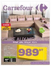 carrefour canapé catalogue carrefour foire aux meubles by carrefour tunisie issuu