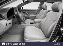 toyota camry hybrid 2008 2008 toyota camry hybrid in gray front seats stock photo