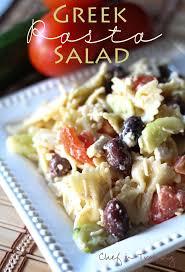 cold pasta dish greek pasta salad chef in training
