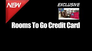 rooms go credit card pay furniture store bill youtube