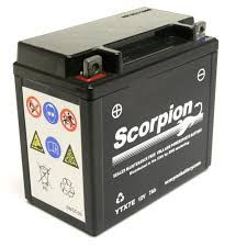 ytx7e battery scorpion 12 volt motorcycle battery