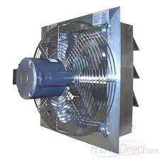 36 inch exhaust fan canarm ax36 7 36 inch shutter mounted direct drive single speed