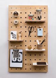 wooden peg board mad about the house