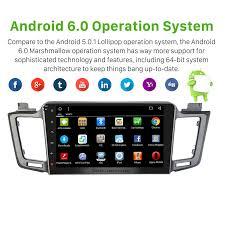 inch 1024 600 touchscreen android 6 0 2012 2015 toyota rav4 radio
