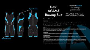 rowing kit agame sports ltd