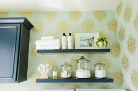 How To Decorate Floating Shelves 12 Ways To Decorate With Floating Shelves Hgtv U0027s Decorating