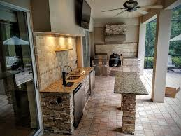 rustic kitchen island ideas built in bbq plans custom made kitchen