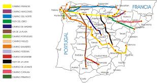santiago de compostela camino rutas camino de santiago compostela espa繿a tiempo de