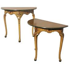 antique console tables for sale antique demilune tables pair regency mahogany console tables table