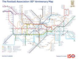 Underground Atlanta Map by English Fa Releases Soccer Tube Map As 150th Anniversary