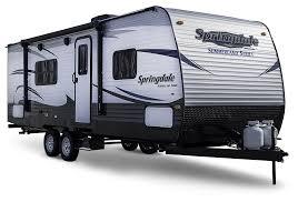 trail lite trailers floor plans summerland travel trailer