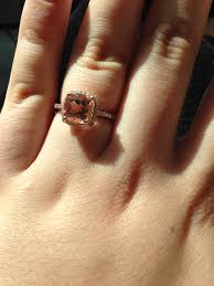 what is an engagement ring my journey with a morganite engagement ring advice about choosing