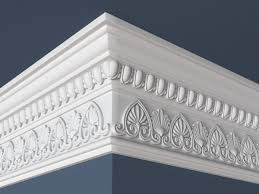 wall 3d model decorative crown molding cgtrader